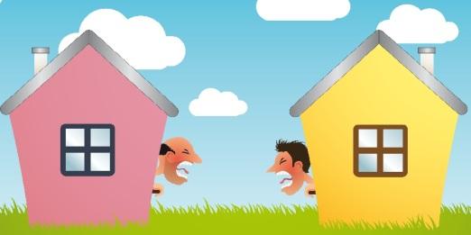 neighbour-fight
